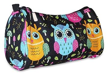 82fcd1e7d1ac Ever Moda Small Owl Makeup Bag