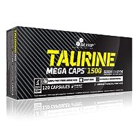Olimp Nutrition Taurine Mega 120 caps -- 3000 mg per serving -- Increases ENERGY / ENDURANCE / REGENERATES MUSCLE