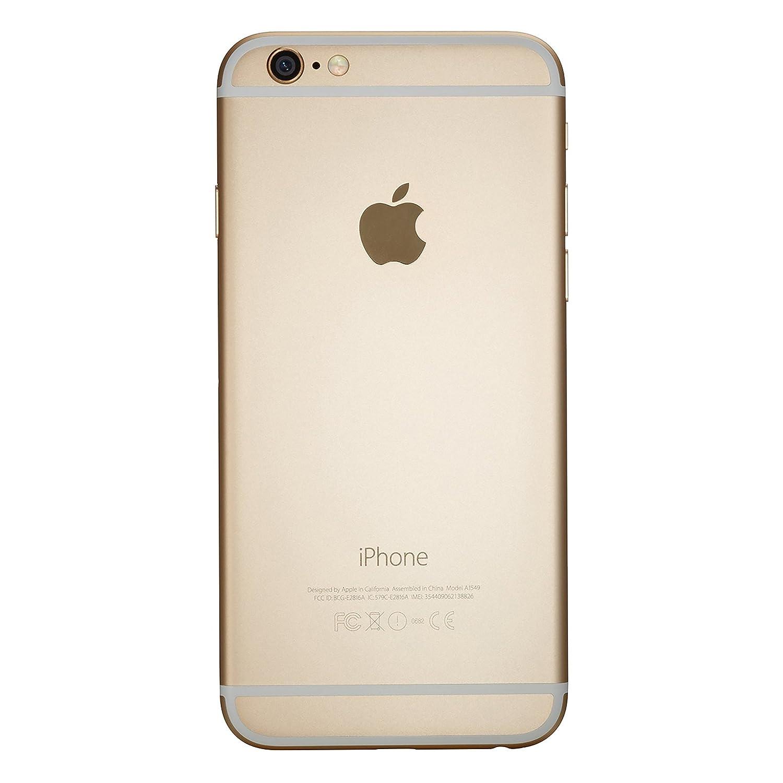 amazon com apple iphone 6 64 gb unlocked gold certified