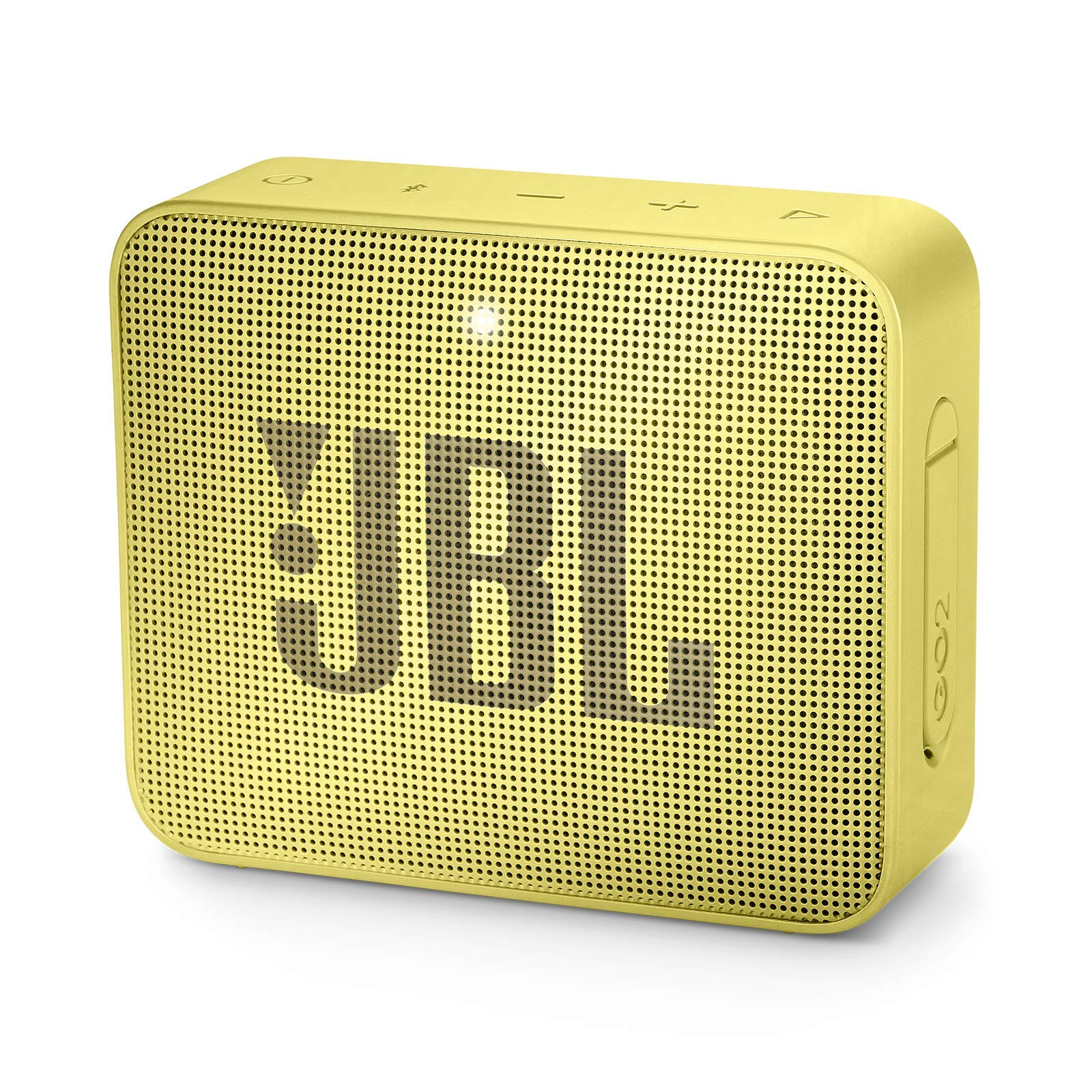 JBL JBLGO2SYL GO 2 Portable Bluetooth Waterproof Speaker (Yellow) by JBL
