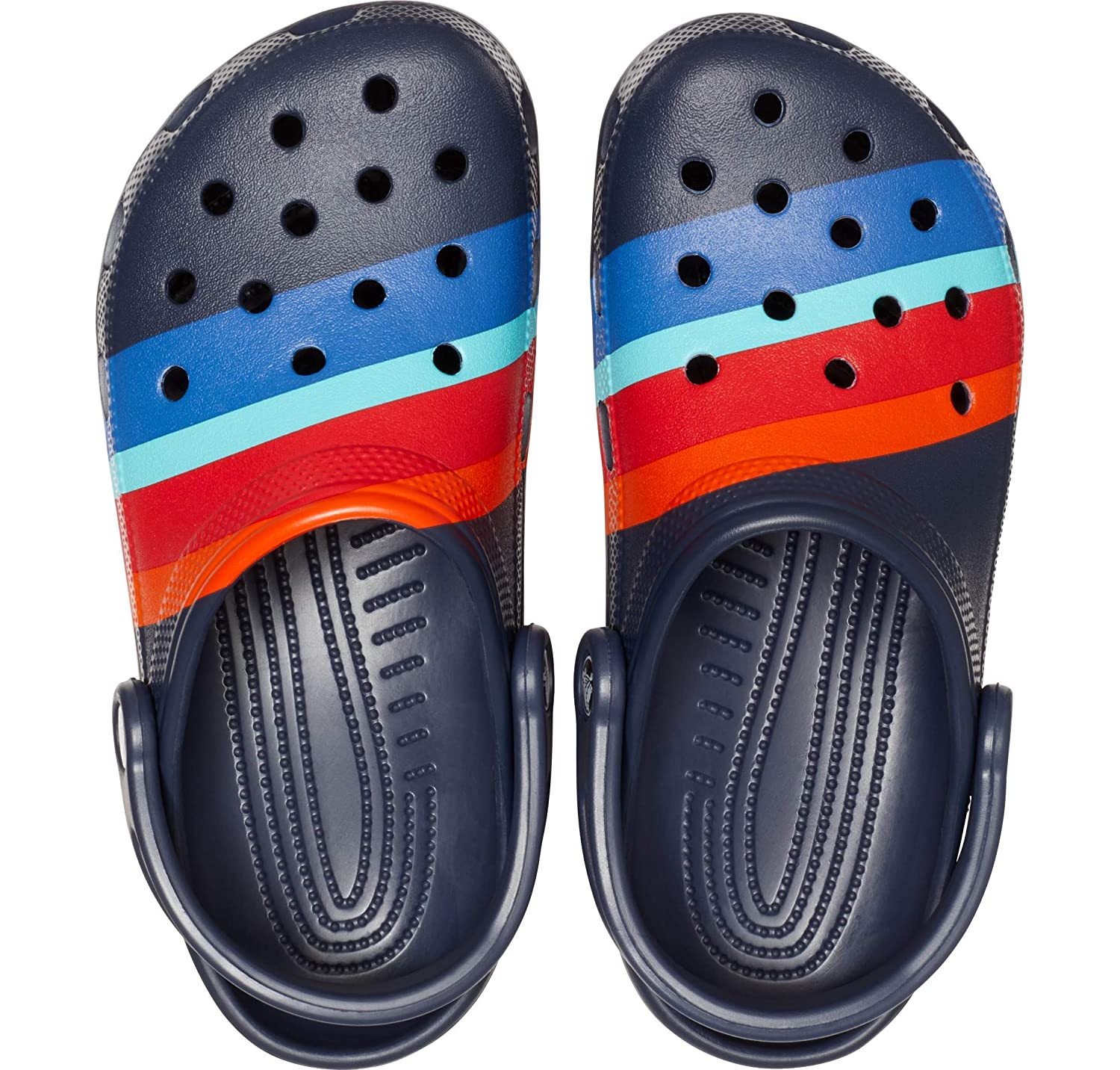 Comfort Slip On Casual Water Shoe Lightweight Crocs Mens and Womens Classic Graphic Clog