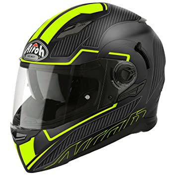 MVSFS31XS - Airoh Movement S Faster Motorcycle Helmet XS Matt Yellow