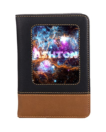 Amazoncom Space Galaxy Travel Passport Wallet Case Cover