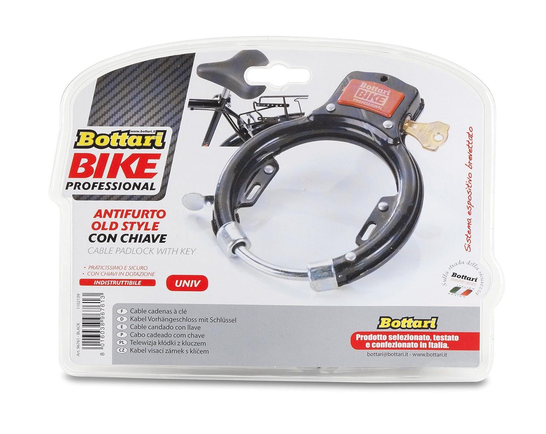 Bottari Bike Security Cable Pad Lock with Key Super Tough - Black ...