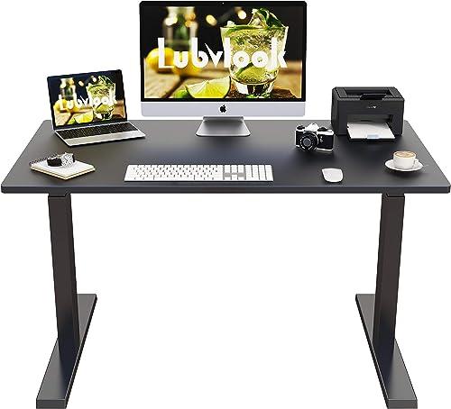 Lubvlook Electric Adjustable Height Standing Desk