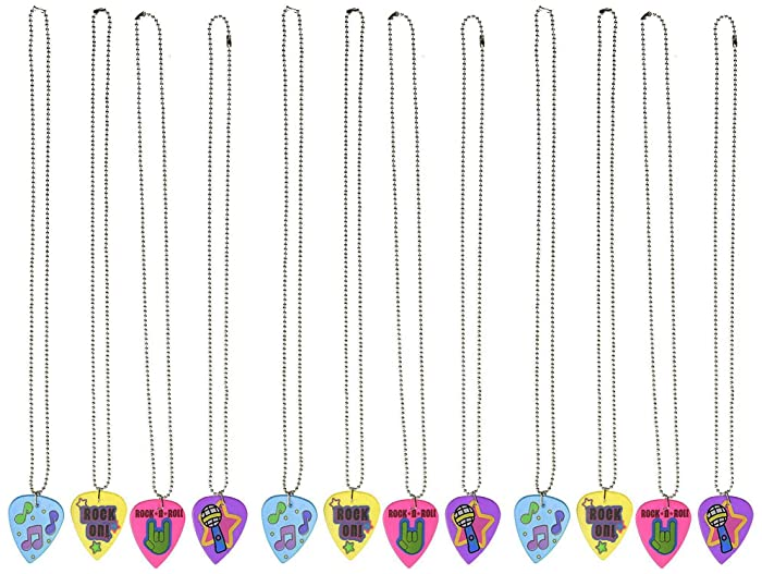 Top 10 Guitar Pick Necklace Rainbow Dash