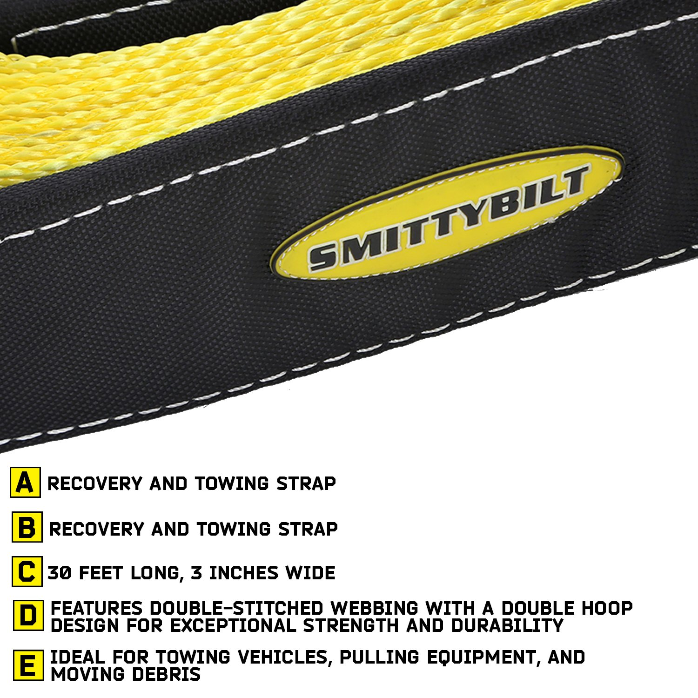 Rating 40,000 lbs Smittybilt CC420 4 x 20 Tree Saver