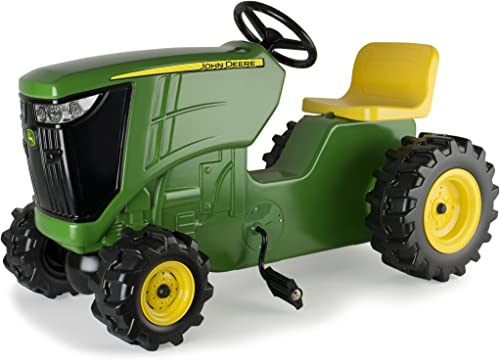 TOMY John Deere Pedal Tractor Ride on Tractor Toy