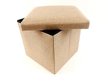 Sitzwürfel sitzhocker stauraum hocker faltbar aufbewahrung x