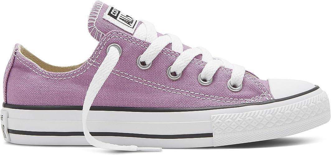 entregar Intuición revisión  Converse 351182 - Zapatillas de Lino para niña, Color Rojo, Talla 30:  Amazon.es: Zapatos y complementos