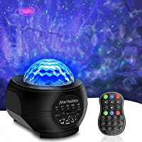SUNOVO Sterrenhemel projector, led-sterrenlichtprojectorlamp voor volwassenen, kinderen, met afstandsbediening en…