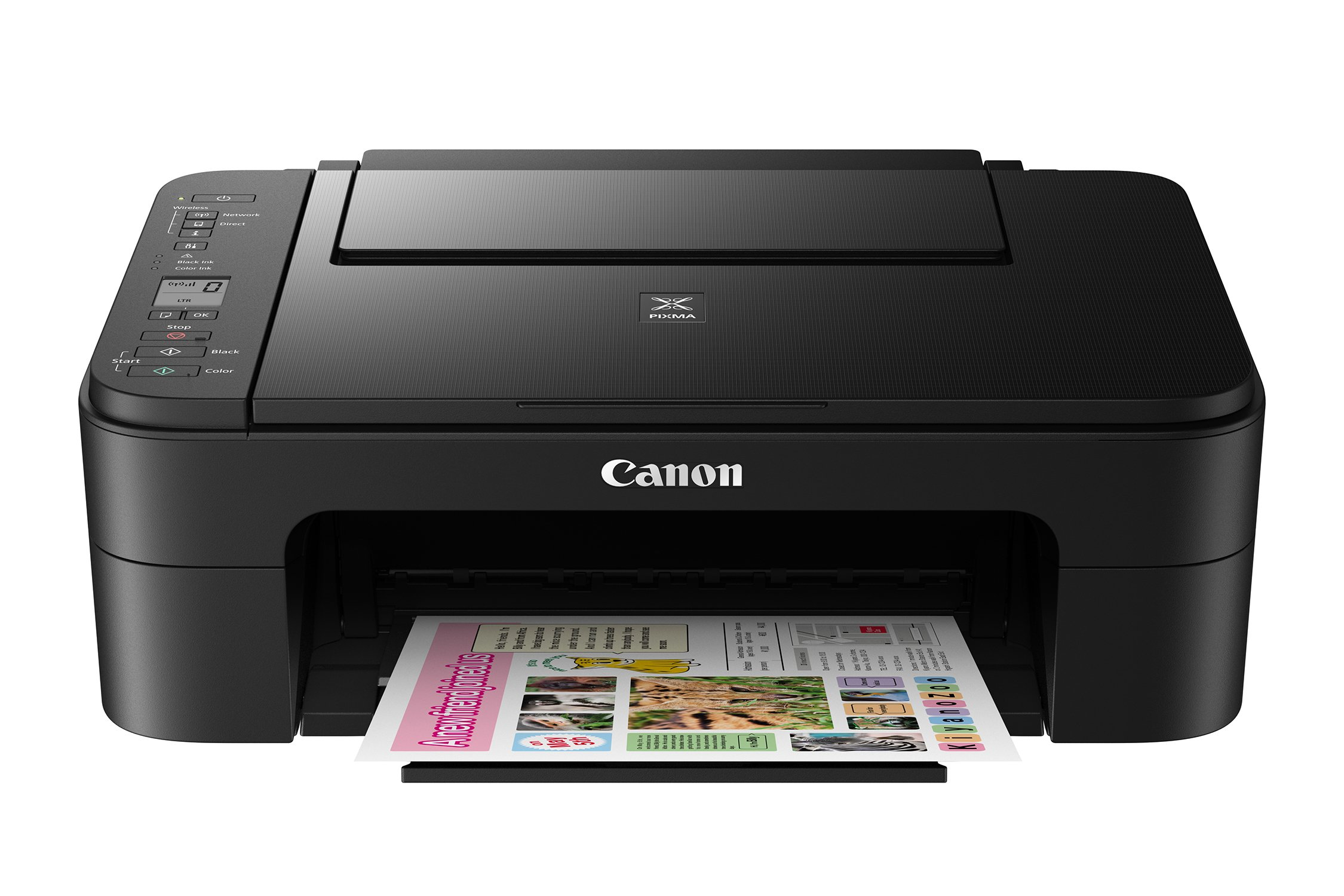 Canon Office Products 2226C002 TS3120 Wireless All-in-One Printer, Black by Canon