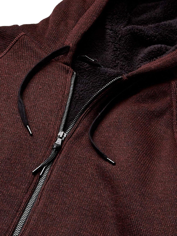 John Varvatos Mens Sherpa Lined Full Zip Hood