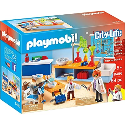PLAYMOBIL Chemistry Class: Toys & Games
