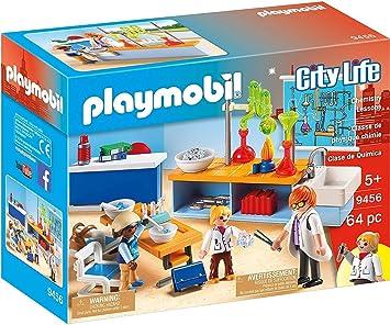 PLAYMOBIL City Life Clase de Química, a Partir de 5 Años (9456)