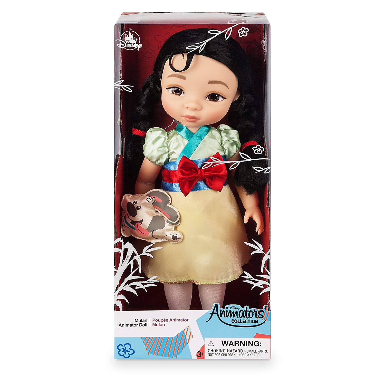 Disney Animators Collection Mulan Doll 16 Inch No Color