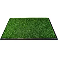Dog Pee Potty Pad, Bathroom Tinkle Artificial Grass Turf, Portable Potty Trainer (16 x 20 Inch - 3 Layers)