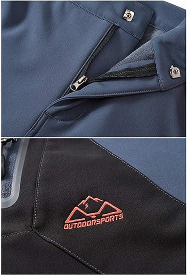 para exterior de softshell impermeables resistentes al viento c/álidos funcionales donhobo Pantalones de invierno para mujer senderismo forrados
