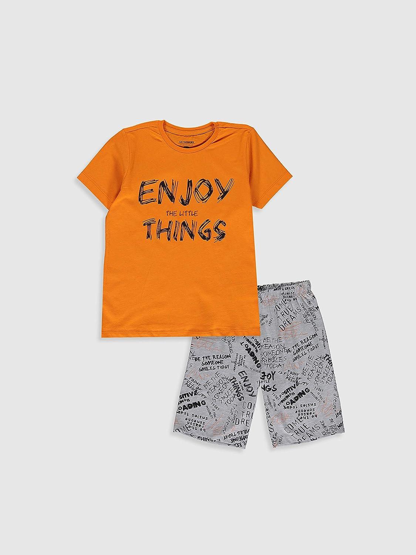 LC WAIKI Set pigiama stampato per ragazzi