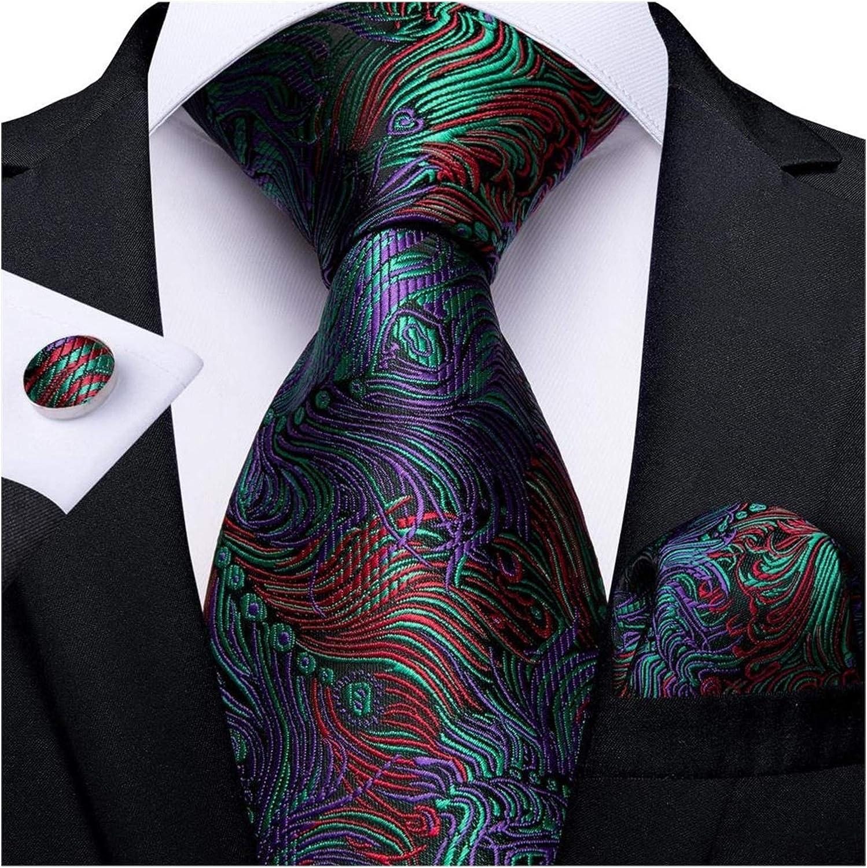 CCSMT Corbata Corbata Verde Traje de Juego Lazo Mancuernas ...