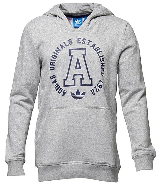 Sudadera con capucha Adidas Originals Top - Talla: 8-9 Años: Amazon.es: Ropa y accesorios