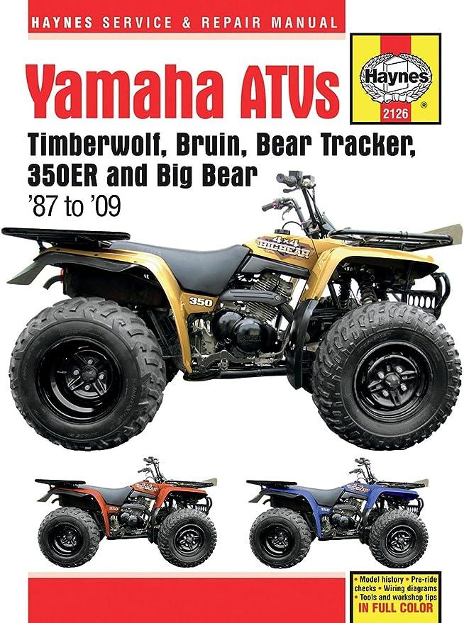 Yamaha 350 Atv Wiring Diagram