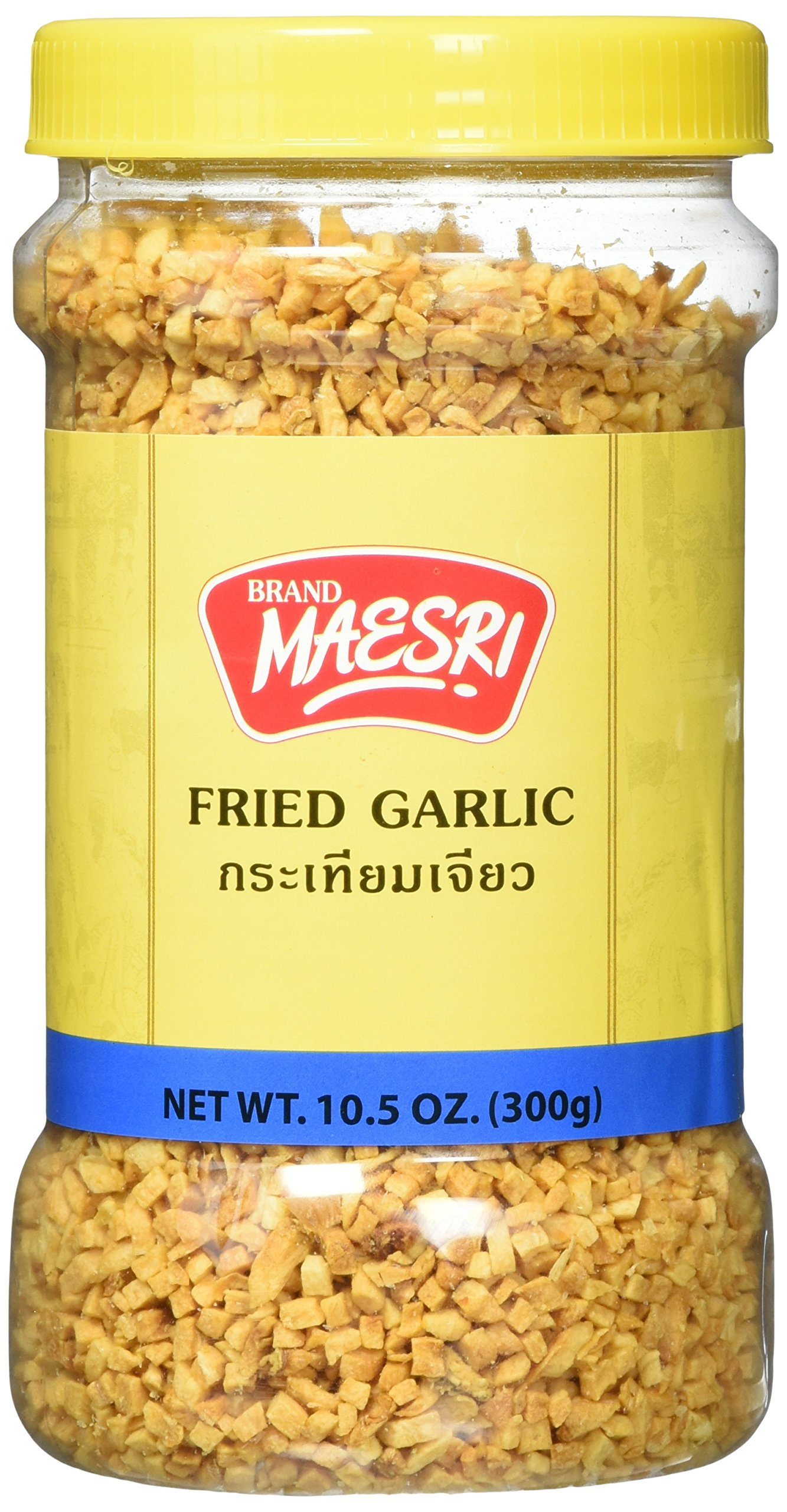 Maesri Fried Garlic, 10.5 Ounce