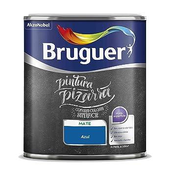 Bruger Pintura pizarra (Azul): Amazon.es: Hogar