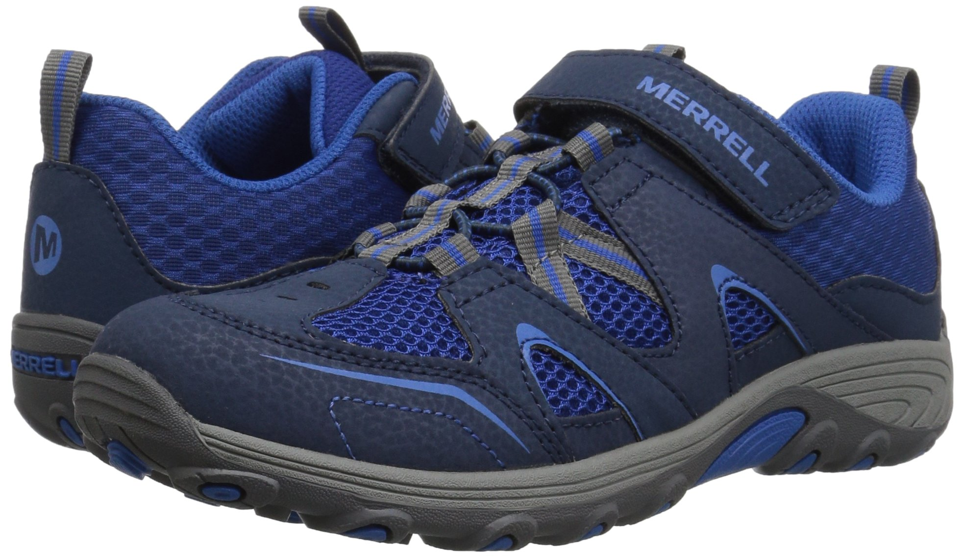 Merrell Trail Chaser Hiking Shoe, Navy, 4 M US Big Kid by Merrell (Image #6)