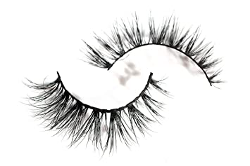 84aea5d657b Amazon.com : Long Wispy Lashes Thick Dramatic Real 3D False Mink Eyelashes  Cruelty Free Reusable For Glamorous Make Up in style Hera : Beauty