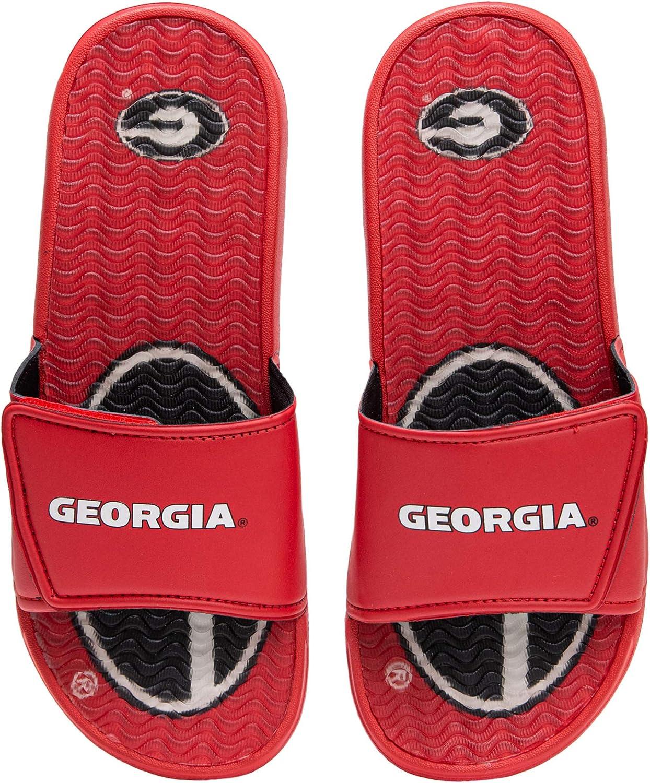 NCAA Mens Sport Shower Gel Slide Flip Flop Sandals