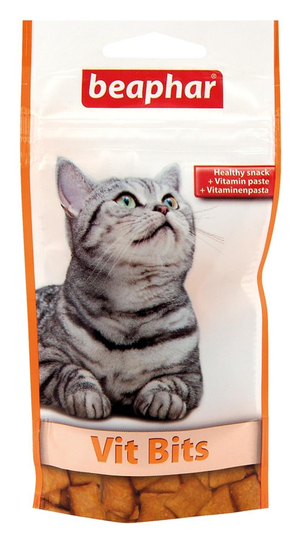 Beaphar - Friandises Vit Bits aux vitamines - chat - 35 g friandise chat complément alimentaire chat friandises chat