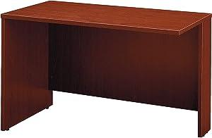 Bush Business Furniture Series C Collection 48W Return Bridge in Mahogany