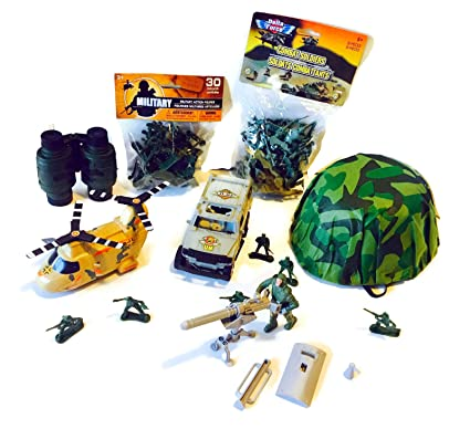 Buy Military Action Play Set Bundle - Includes 7 Items