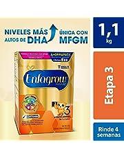 Leche de Crecimiento en Polvo para Niños mayores de 12 Meses, Enfagrow Premium Etapa 3 Caja de 1,100 gramos