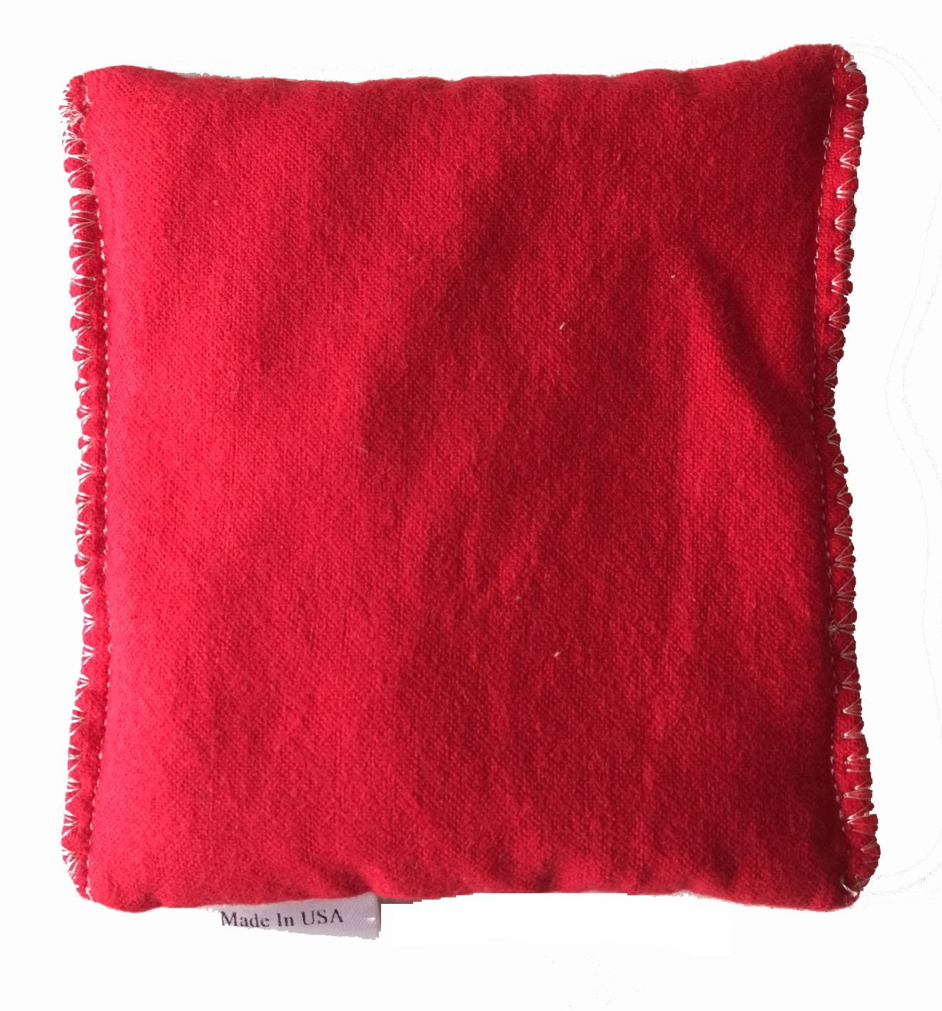 Red Color Design 2packYou Pick Scent Hot and Cold Pack Reusable Microwaveable Rice Pack 5 inches by 5 inches Handmade reusable hot pads and reusable ice packs Hot Cold Pack Ideal Gift