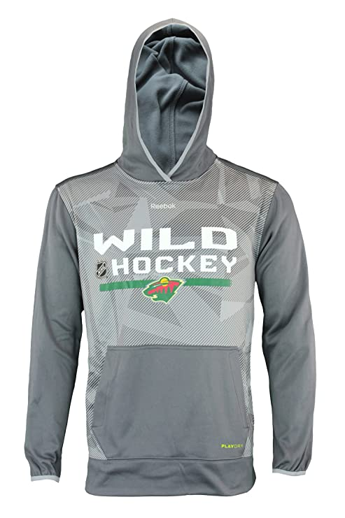 52e14c611 Image Unavailable. Image not available for. Color  NHL Men s Minnesota Wild  Pullover TNT Hoodie ...