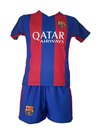 buy popular e2944 4eeb0 Lionel Messi Shirt Barcelona 2016-2017 Home Kit for Kids (8-9 years)