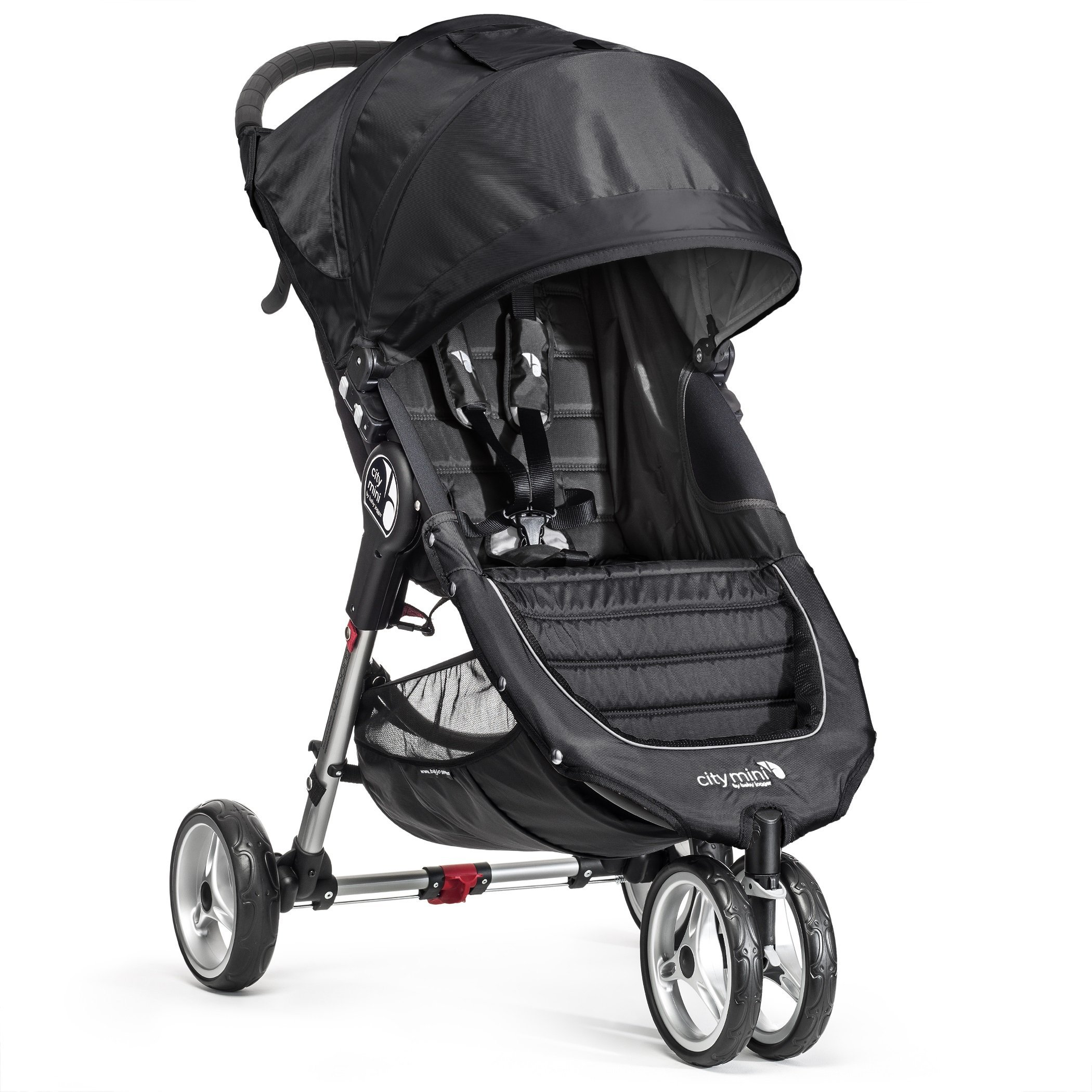 Baby Jogger City Mini Stroller In Black, Gray Frame by Baby Jogger (Image #1)