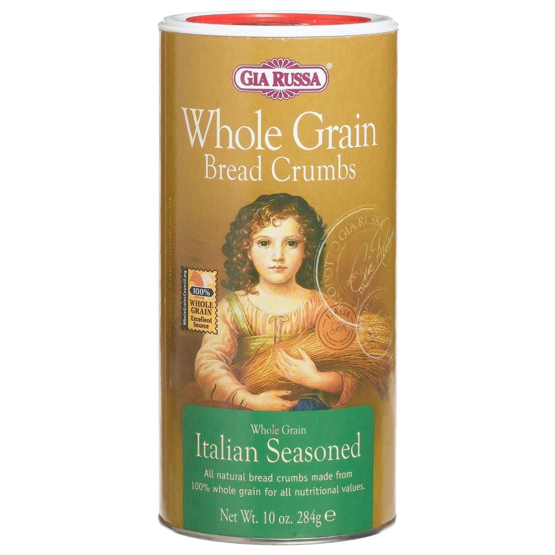 Gia Russa Whole Grain Italian Seasoned Breadcrumbs - 10 Ounce