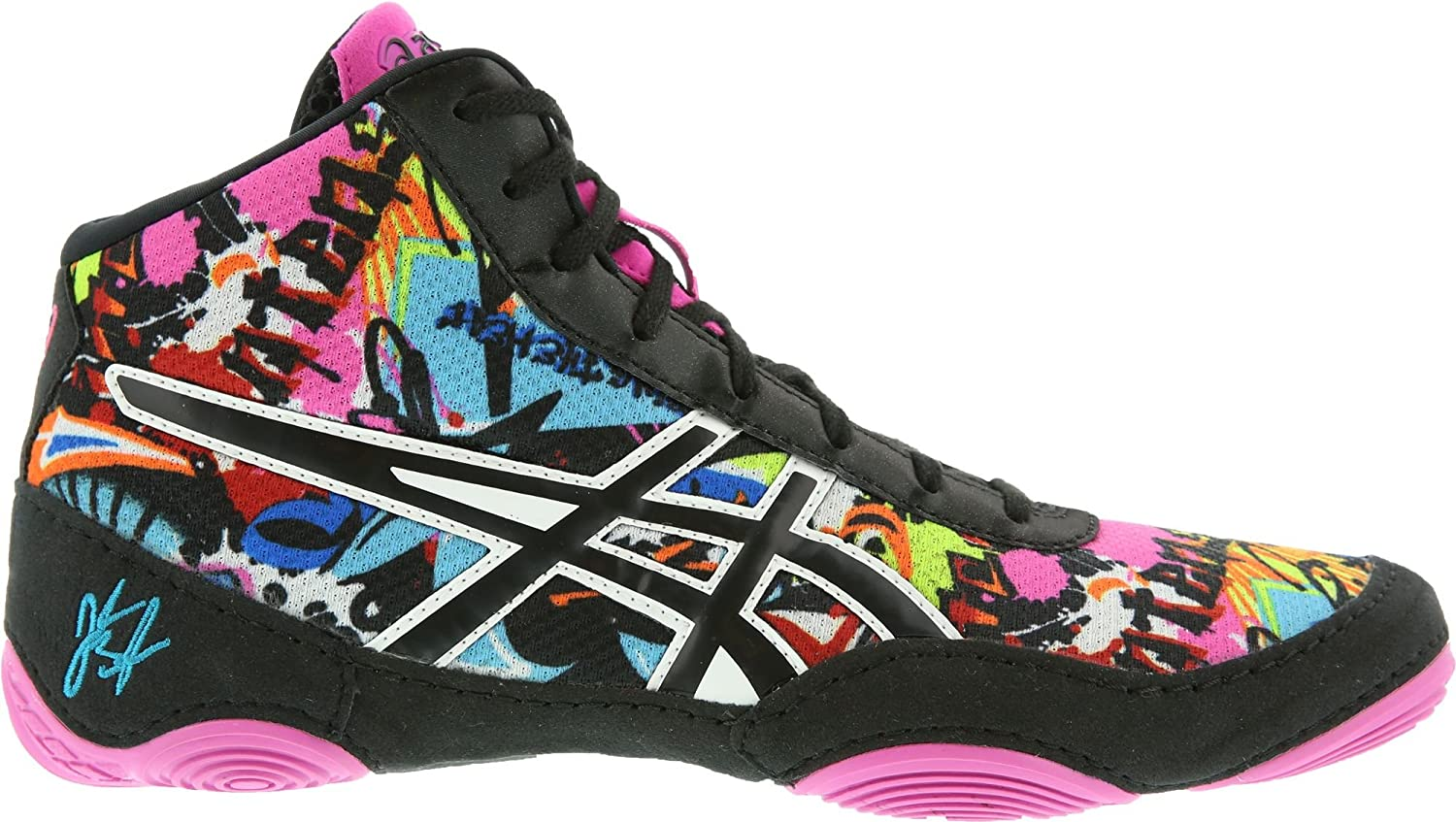 ASICS Men's JB Elite V2.0 Black/Pink Glow 10 D US