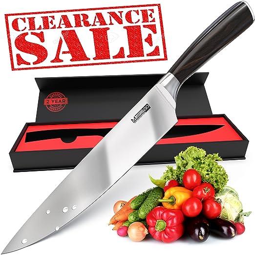 MasterGO Kitchen cuchillo de chef de 8 pulgadas - cuchillo ...