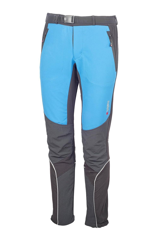 Mello's Ripid Plus Hose, Softshell-Hose Winddicht geeignet für Skitouren Trekking Mountain Wandern