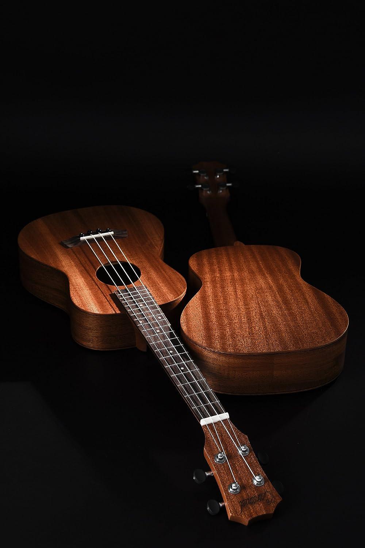 Caramelo ct402 todos los madera maciza de caoba Tenor ukelele ...