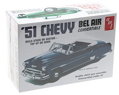 Amazon 1951 Chevy Bel Air Convertible Amt Toys Games