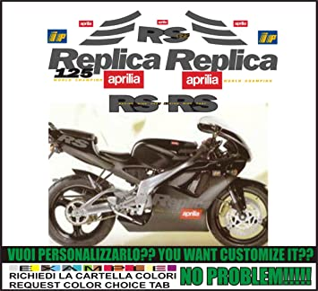 Kit Adesivi Decal Stickers Aprilia Rs 125 1997 Replica