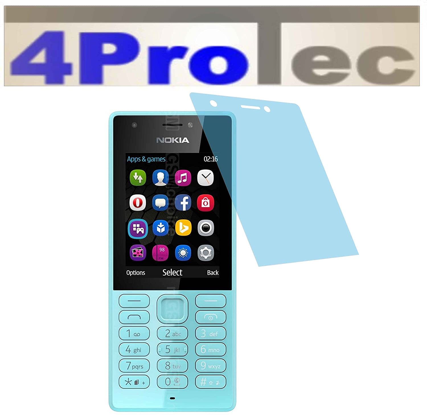 2 Piece Hardened Anti-Reflective Screen Protector for