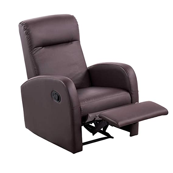 Sillón relax reclinable modelo Home tejido bali gris marengo jaspeado - Sedutahome