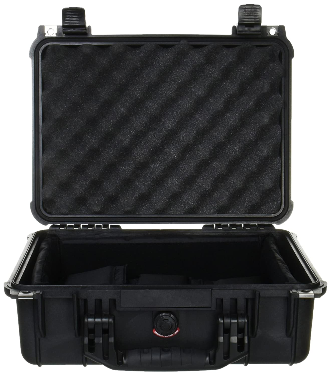 6127922f892 Pelican 1450 Case With Padded Dividers  (Black ) Pelican Products Inc. 1450