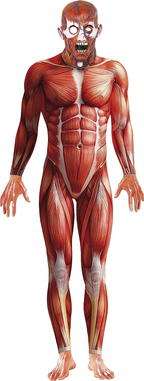 Amazon.com: Smiffy\'s Anatomy Man Costume: Clothing